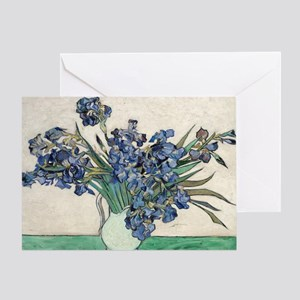 Van Gogh Irises Greeting Card