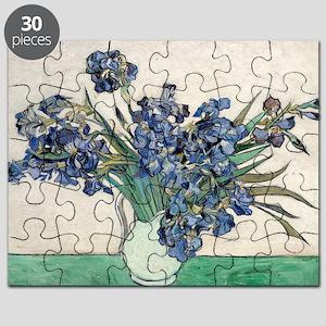 Van Gogh Irises Puzzle