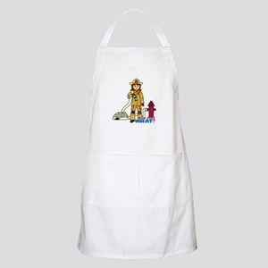 Firefighter Woman Apron