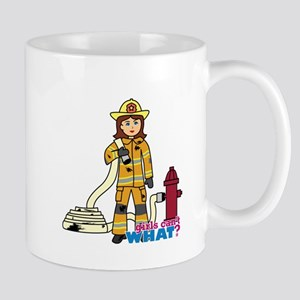 Firefighter Woman Mug