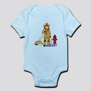 Firefighter Woman Infant Bodysuit