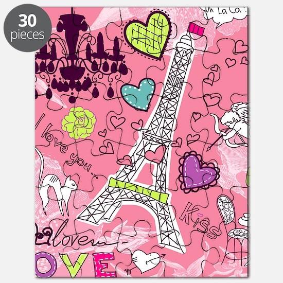 Love in Paris Puzzle