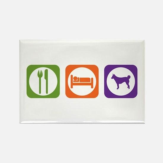 Eat Sleep Lundehund Rectangle Magnet (10 pack)