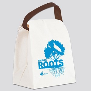 Aruban Roots Canvas Lunch Bag