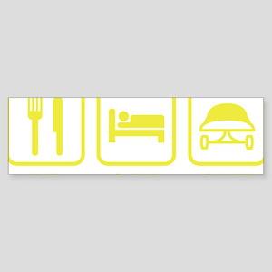 eatSleepSkatebo1D Sticker (Bumper)