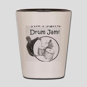 Mighty Drum Jam Shot Glass