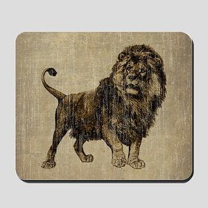 Vintage Lion Mousepad