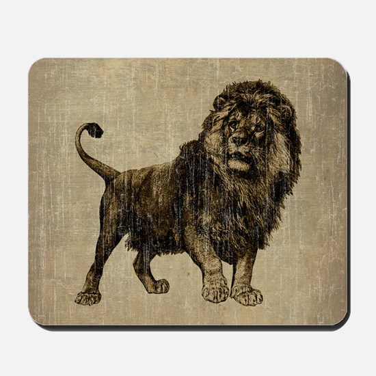 Vintage Lion Mousepad
