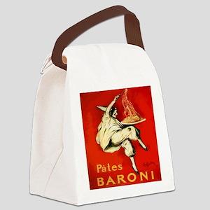 Cappiello Pates Baroni Spaghetti  Canvas Lunch Bag