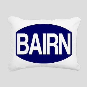 Bairn (Blue) for white Rectangular Canvas Pillow