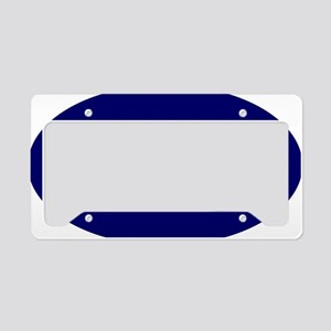 Bairn (Blue) for white License Plate Holder