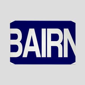 Bairn (Blue) for white Rectangle Magnet