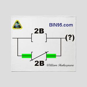 2Bnot2B Ladder Logic Throw Blanket