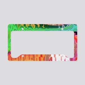 Meddle A LST License Plate Holder