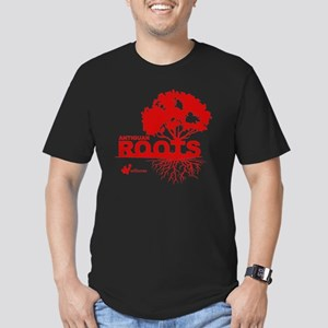Antiguan Roots Men's Fitted T-Shirt (dark)
