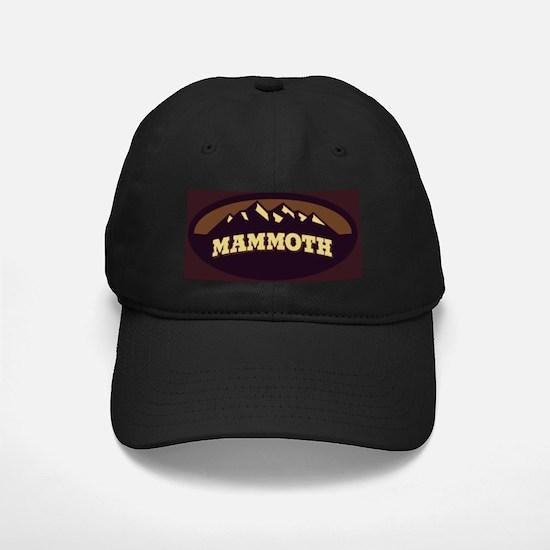 Mammoth Sepia Baseball Hat
