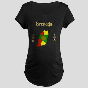 Grenada Maternity Dark T-Shirt