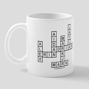 SPENCER SCRABBLE-STYLE Mug