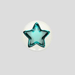 Aqua Star Mini Button