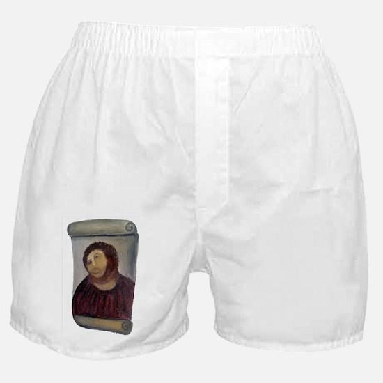 Jesus Fresco Boxer Shorts