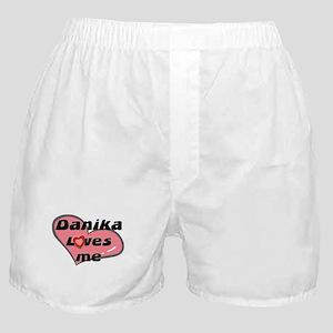 danika loves me  Boxer Shorts