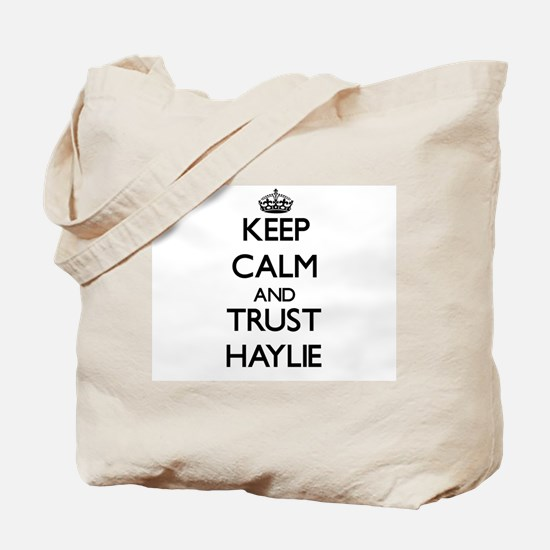 Keep Calm and trust Haylie Tote Bag