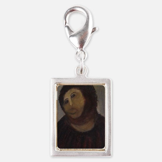 Ecce Homo Silver Portrait Charm