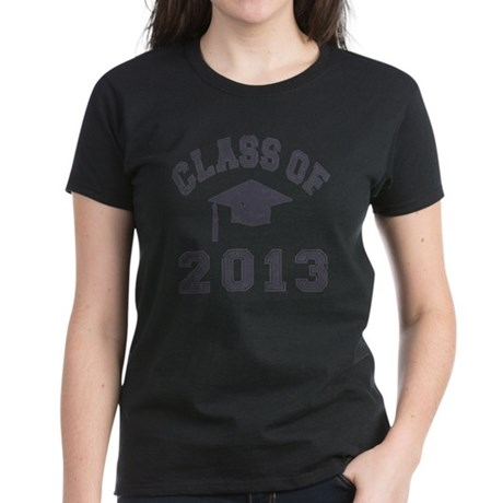 Class Of 2013 Graduation Women's Dark T-Shirt
