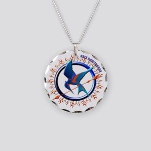 Gale Hawthorne Conflicting P Necklace Circle Charm