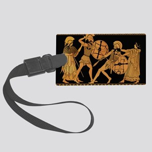Achilles Slaying Hector Large Luggage Tag