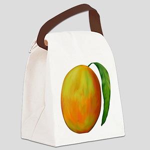 mango-tile-white Canvas Lunch Bag