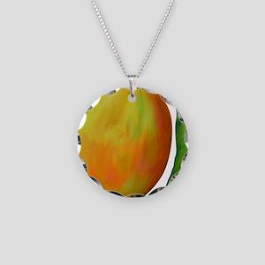 mango-tile-white Necklace Circle Charm