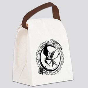 President Snow in The Hunger Game Canvas Lunch Bag