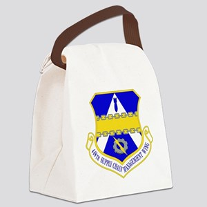 USAF Air Force 448th Supply Chain Canvas Lunch Bag