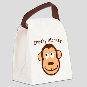 CheekyMonkey Canvas Lunch Bag
