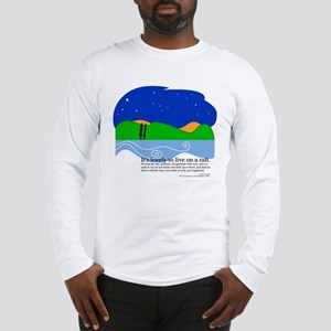 Huck Finn by Nancy Vala Long Sleeve T-Shirt