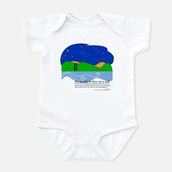 Huck Finn by Nancy Vala Infant Bodysuit