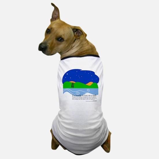 Huck Finn by Nancy Vala Dog T-Shirt