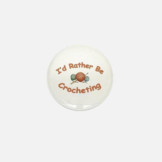 Crochet Mini Button
