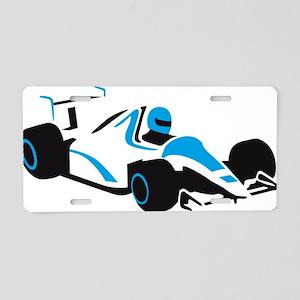 racing car Aluminum License Plate