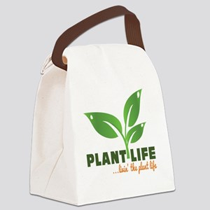Plant Life Canvas Lunch Bag