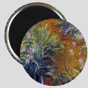 Claude Monet Irises Magnet