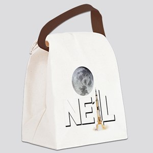 A TRIBUTE DESIGN TO NEIL ARMSTRON Canvas Lunch Bag