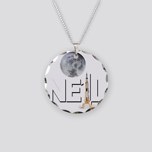 A TRIBUTE DESIGN TO NEIL ARM Necklace Circle Charm