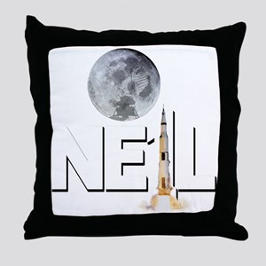A TRIBUTE DESIGN TO NEIL ARMSTRONG Throw Pillow