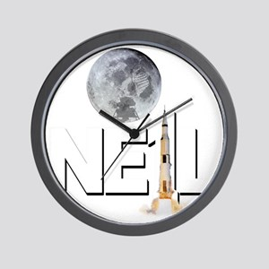 A TRIBUTE DESIGN TO NEIL ARMSTRONG Wall Clock