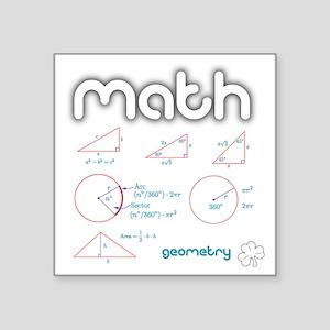 "Geometry Square Sticker 3"" x 3"""