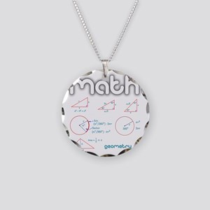 Geometry Necklace Circle Charm