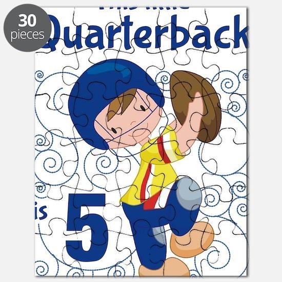 This Little Quarterback is 5 Puzzle