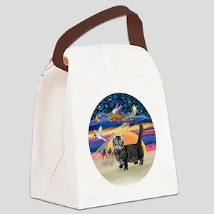 XAngel-Munchkin cat1 Canvas Lunch Bag